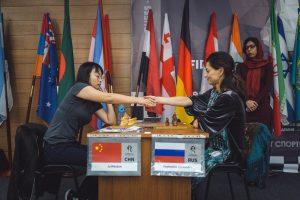 Полуфинал Ju Wenjun - Alexandra Kosteniuk